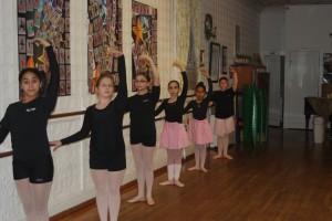 beginner ballet class 1