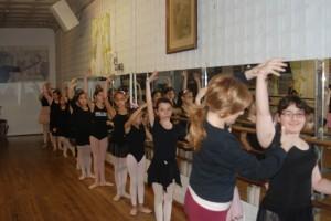 beginner ballet class 2