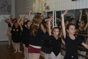beginner ballet class 3