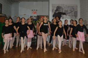 beginner ballet class 4