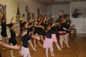 beginner ballet class 5